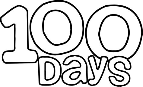 coloring page of the number 100 printable 100 number coloring pages printable best free