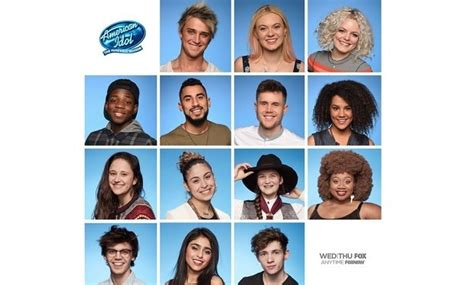 Four Voted American Idol by American Idol 2016 Four Contestants Advance To Top 10