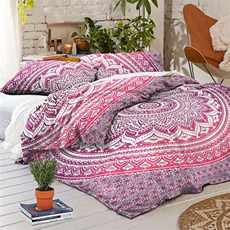 Boho Quilt Covers by Exclusive Pink Purple Ombra Duvet Cover By Madhu
