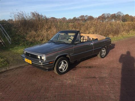 renault alliance 1986 renault alliance amc cabrio 1986 catawiki