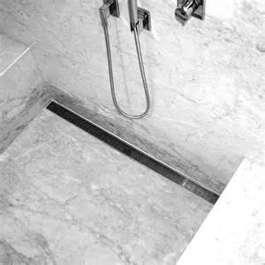 shower trench drain linear drain shower pan aqva 5in