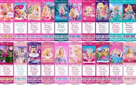barbie film order all barbie movies story of barbie barbie more than