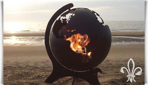 feuerstelle kaufen feuerkorb 187 orbis 171 aus stahl als weltkugel gartentraum de