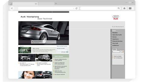audi nl website development alexxdesign