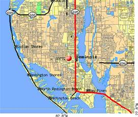 map of seminole florida seminole fl