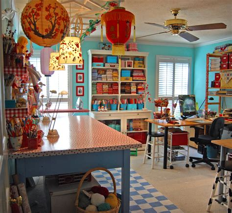 craft studio ideas craft room envy spiral owl s create it blog