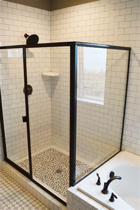 50  Glass Shower Door Inspiration and Ideas   Brooklyn