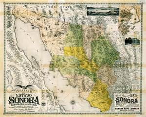 sonora arizona map the pasqu yaqui connection publications and resources