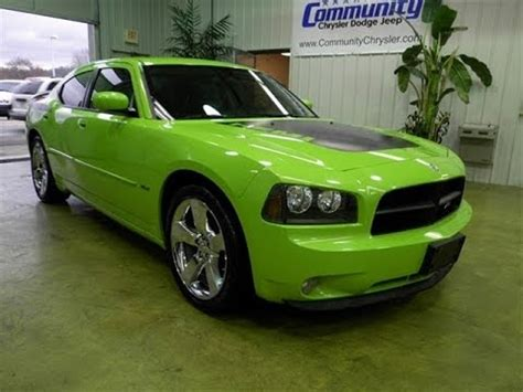 sublime green dodge charger for sale 2007 dodge charger r t daytona sublime green