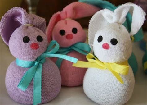 sock bunny directions 18 easy easter crafts for
