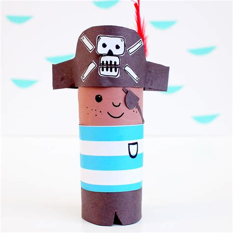 how to make a boat out of toilet paper roll mollymoocrafts toilet roll crafts meet mr pirate and mr