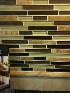 glass backsplash at lowes kitchen ideas