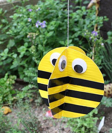busy bee crafts busy bee duct craft allfreekidscrafts