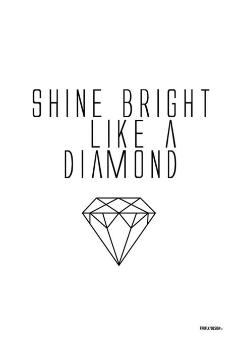 the prints world shine bright like a diamond art prints shine bright like a diamond frufly shop prints