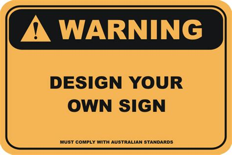 design your house sign design your own warning sign customise your sign