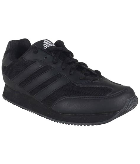 adidas school sneakers adidas black fabric school shoes for price in india