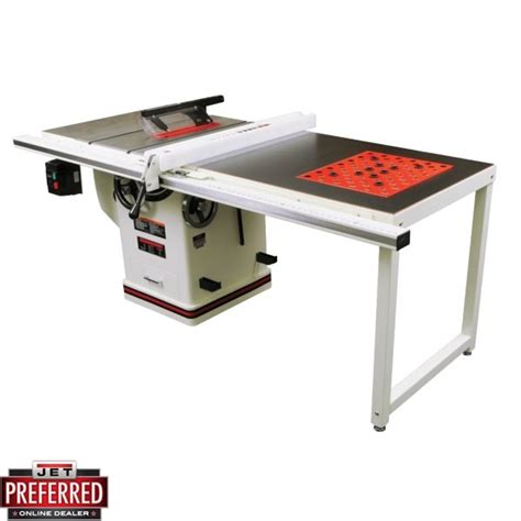 jet saw bench jet 708678pk jtas 10xl50 1pk 10 quot deluxe xacta table saw