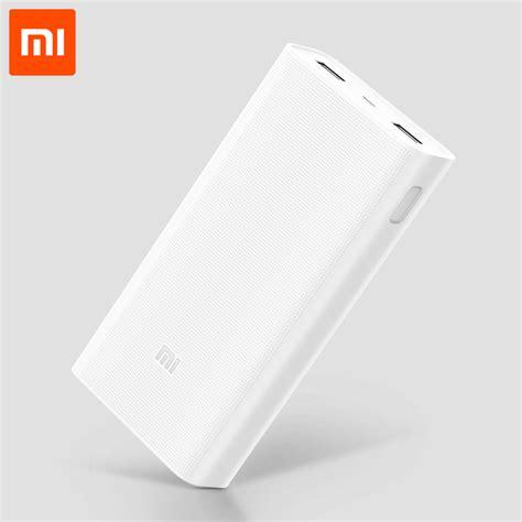 Xiaomi Powerbank Fast Charging 20000mah 2959 aliexpress buy 20000mah xiaomi mi power bank 2c support two way fast charging qc 3 0 dual
