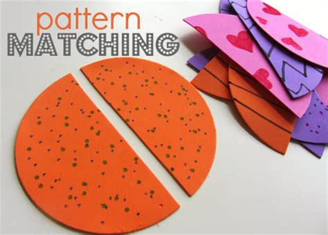 Simple Pattern Matching | book pattern preschool 187 patterns gallery