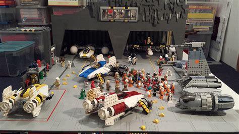 Diorama Custom Battle Damage 1 6 Bonus Room Diorama 1 Image Gallery Lego Hangar 51