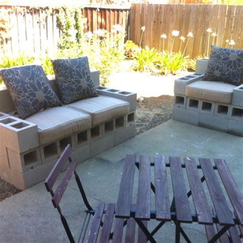 Spent The Morning Building Some Cinder Block Patio Cinder Block Patio Furniture