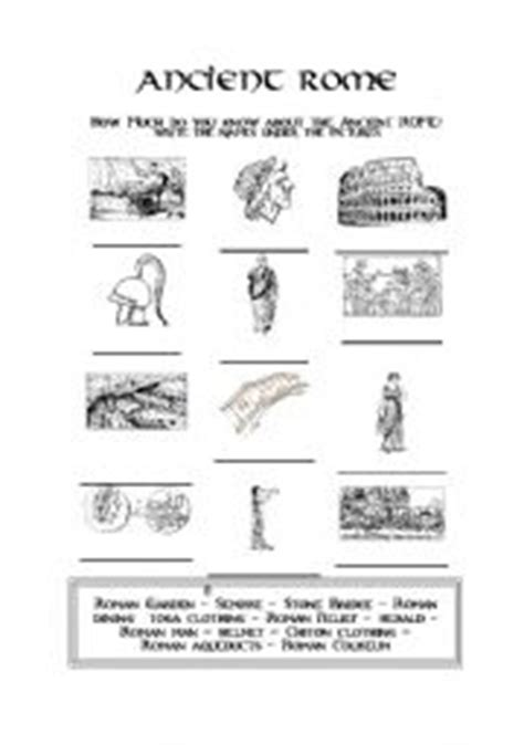ancient rome worksheets teaching worksheets ancient rome