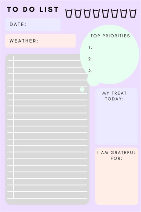girly printable to do list girly to do list template templates station