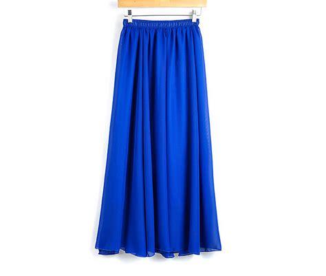 Pastel Blouse Muslim Rok Maxi Flowy flowy skirts dress ala