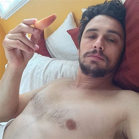 selfies in bed james franco posts nearly nude instagram selfie ny daily