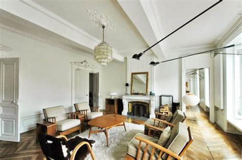 Entrée Appartement Design by D 233 Sign Salon Haussmanien