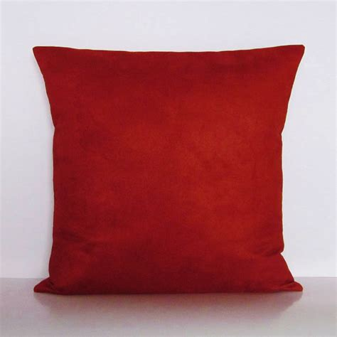 burnt orange sofa pillows burnt orange suede pillow cover rust decorative accent throw