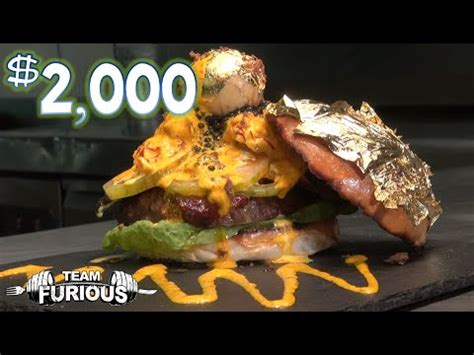 eating the world's most expensive burger ($2,000) | daikhlo