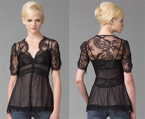 nanette lepore lapore sold  rare lingerie lace blouse