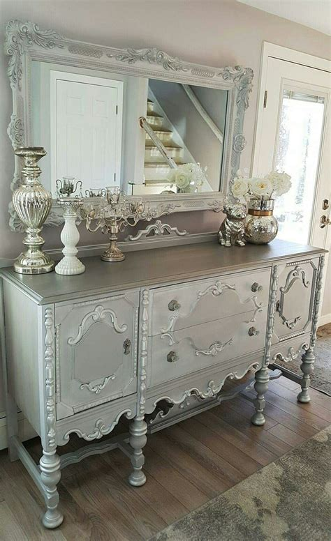 silver painted bedroom furniture best 25 silver painted furniture ideas on