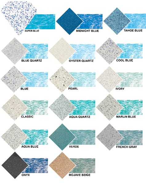 pool colors brite colors i like onyx a lotttt for our pool