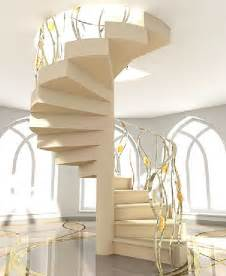 How To Design A Spiral Staircase Staircase With Shape Spiral Design Design Modern Home