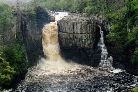 high force waterfall on the river tees photo walking britain grough teen dies after getting into difficulties