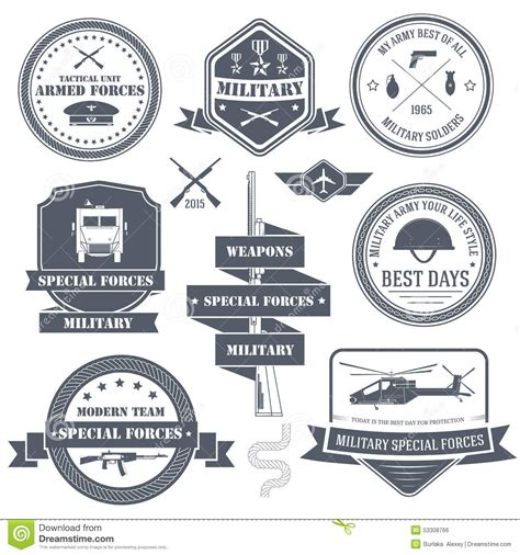 elit templates sticker set label template of emblem element for stock