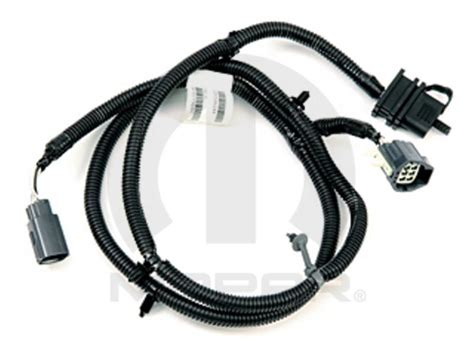 dodge magnum trailer tow wiring harness flat directly