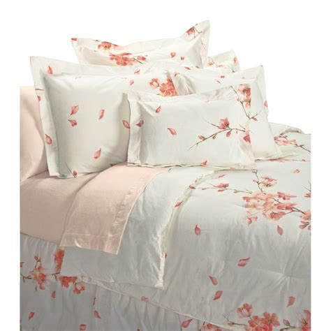 blossom comforter set mirabello peach blossom comforter set egyptian cotton
