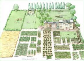 How To Plan A Flower Garden Layout 1 Acre Homestead Layout Garden Ideas
