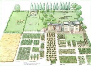 Acre homestead layout garden design layout vegetable garden layout