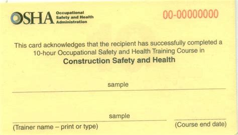 osha certificationd template pictures inspirational pictures