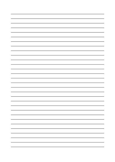 Vorlage Word Liniertes Blatt Linienpapier Kostenlos Zum Ausdrucken