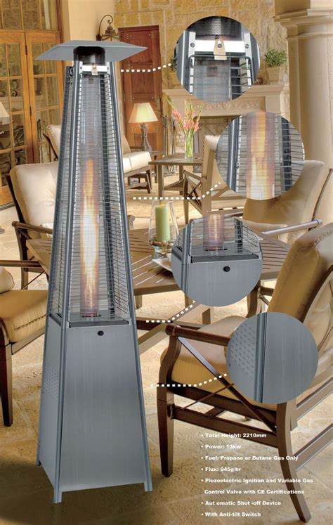 pyramid patio heaters square pyramid patio heater
