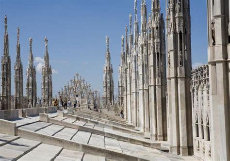 terrazze duomo offerta sul tetto di visita alle terrazze