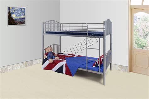 Metal Bunk Bed Mbb 09 Foxhunter 3ft Single Metal Frame Bunk Bed Children Kid