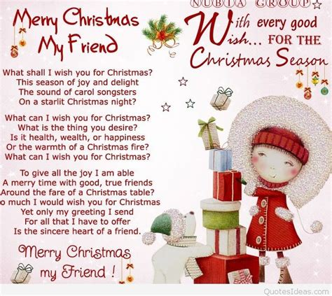 friends merry christmas quote