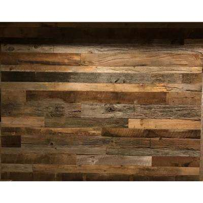 reclaimed wood planks for walls paneling lumber composites the home depot
