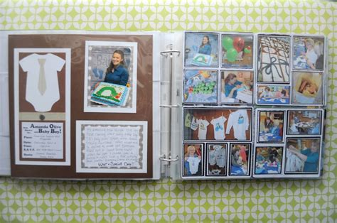 Baby Shower Scrapbook Pages by Baby Shower Scrapbook Ideas Cooper Medium